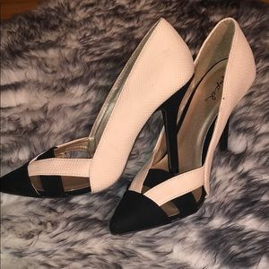 Two toned heels